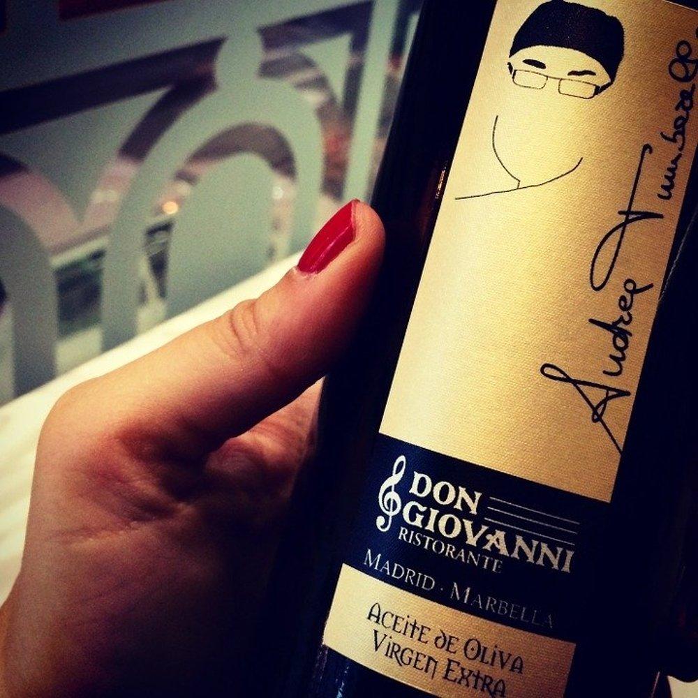 Aceite de oliva gourmet de Don Giovanni