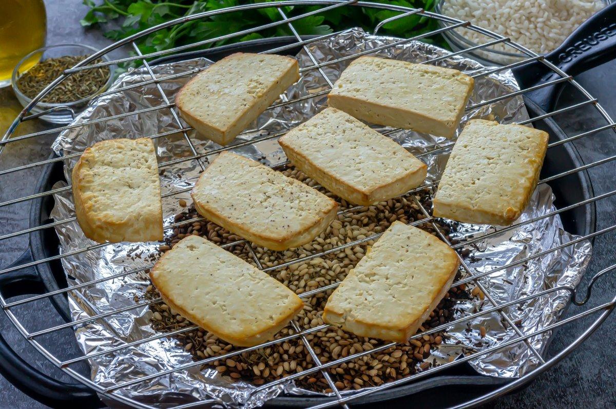 Ahumar el tofu