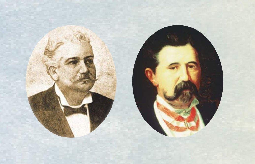 Alessandro Martini y Luigi Rossi, creadores de Martini