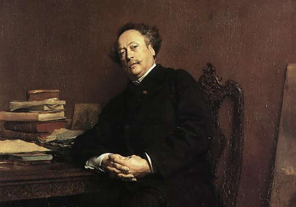 Alexandre Dumas en un retrato