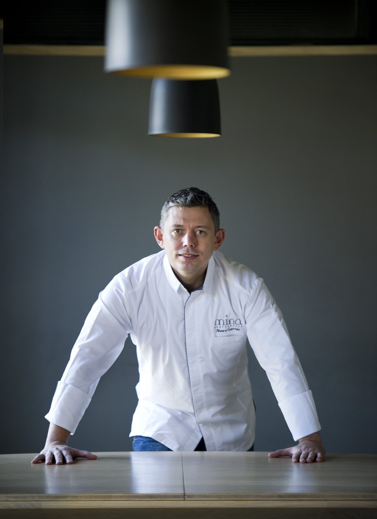 Álvaro Garrido, chef del restaurante Mina