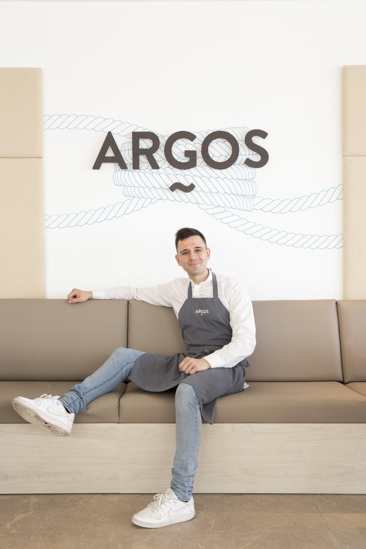 Álvaro Salazar, chef del restaurante Argos