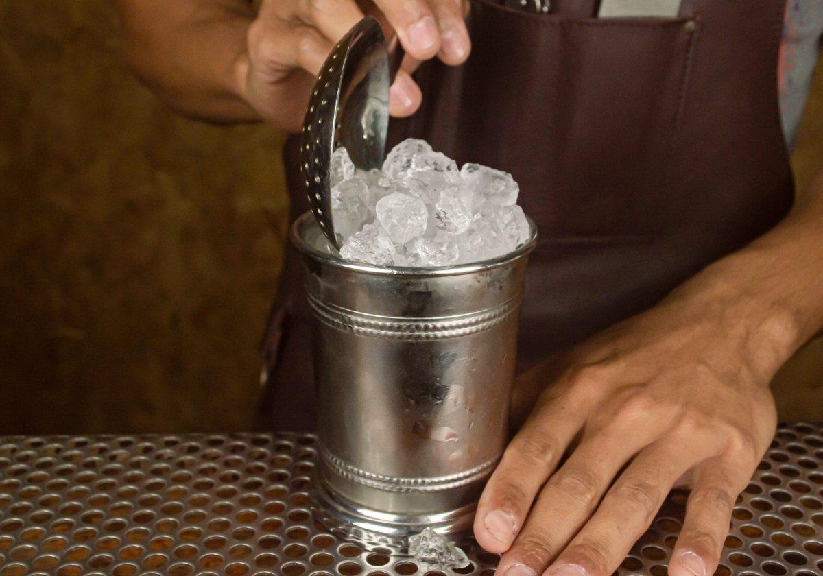 Añadir un poco más de hielo