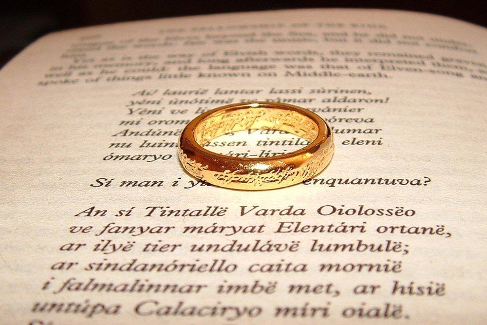 Anillo Único de El señor de los anillos