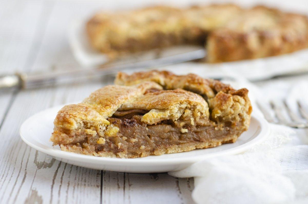Apple Pie americano tradicional