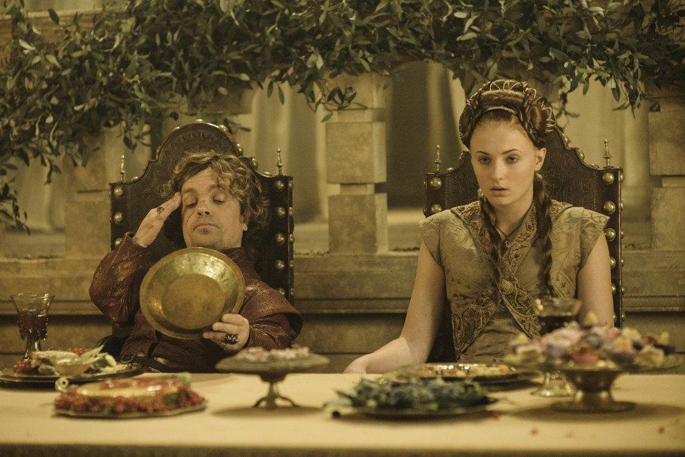 Banquete de coronación en Juego de Tronos