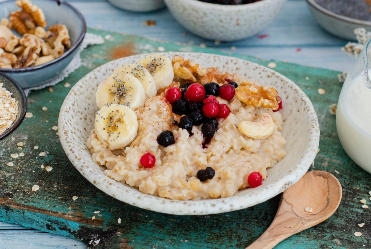 Gachas de avena (Porridge)
