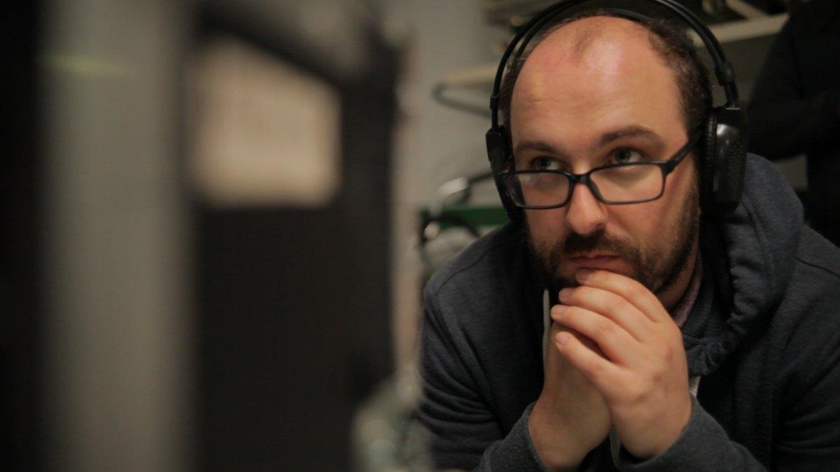 Borja Cobeaga, director y comilón