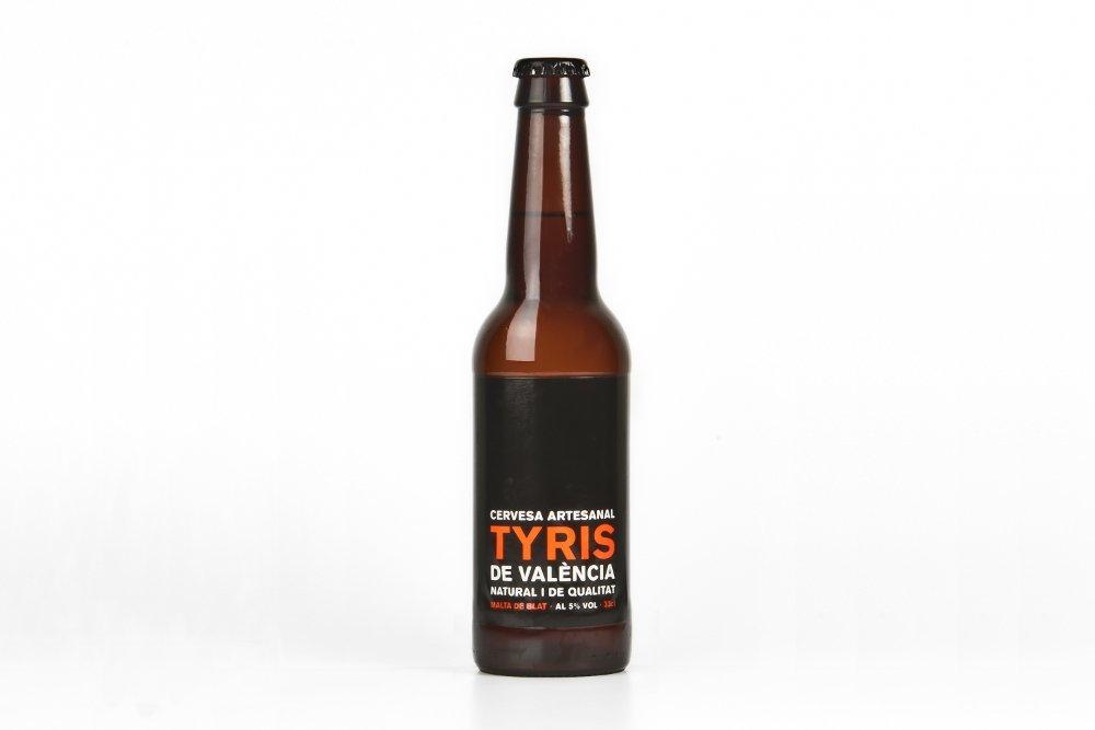 Botella cerveza Tyris