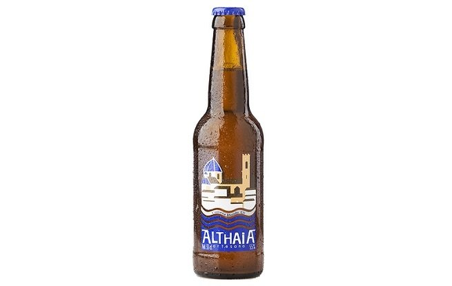 Botella de Althaia Blonde Ale