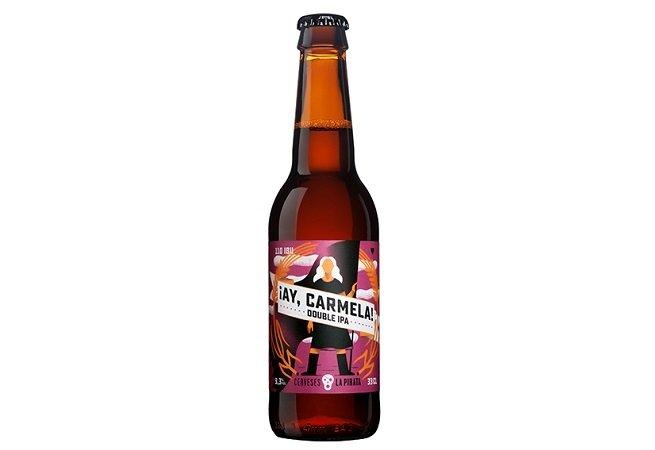 Botella de ¡Ay, Carmela! sobre fondo blanco