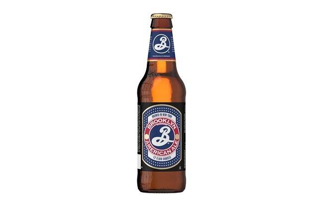 Botella de Brooklyn American Pale Ale