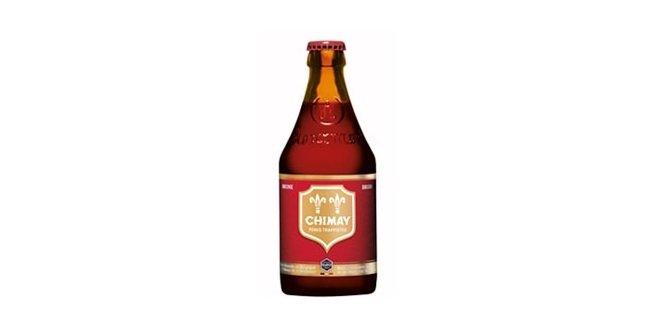 Botella de Chimay Roja