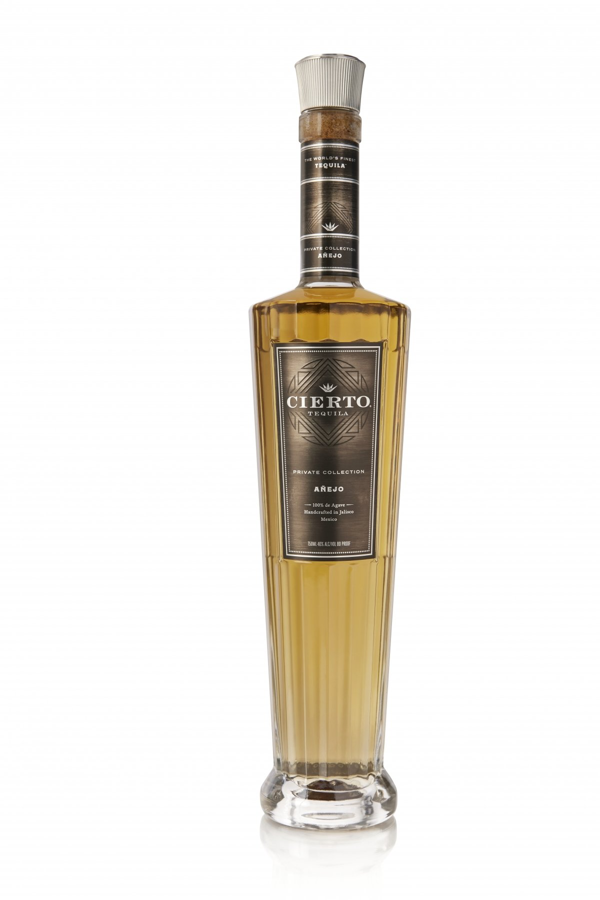 Botella de Cierto Tequila Private Collection Añejo