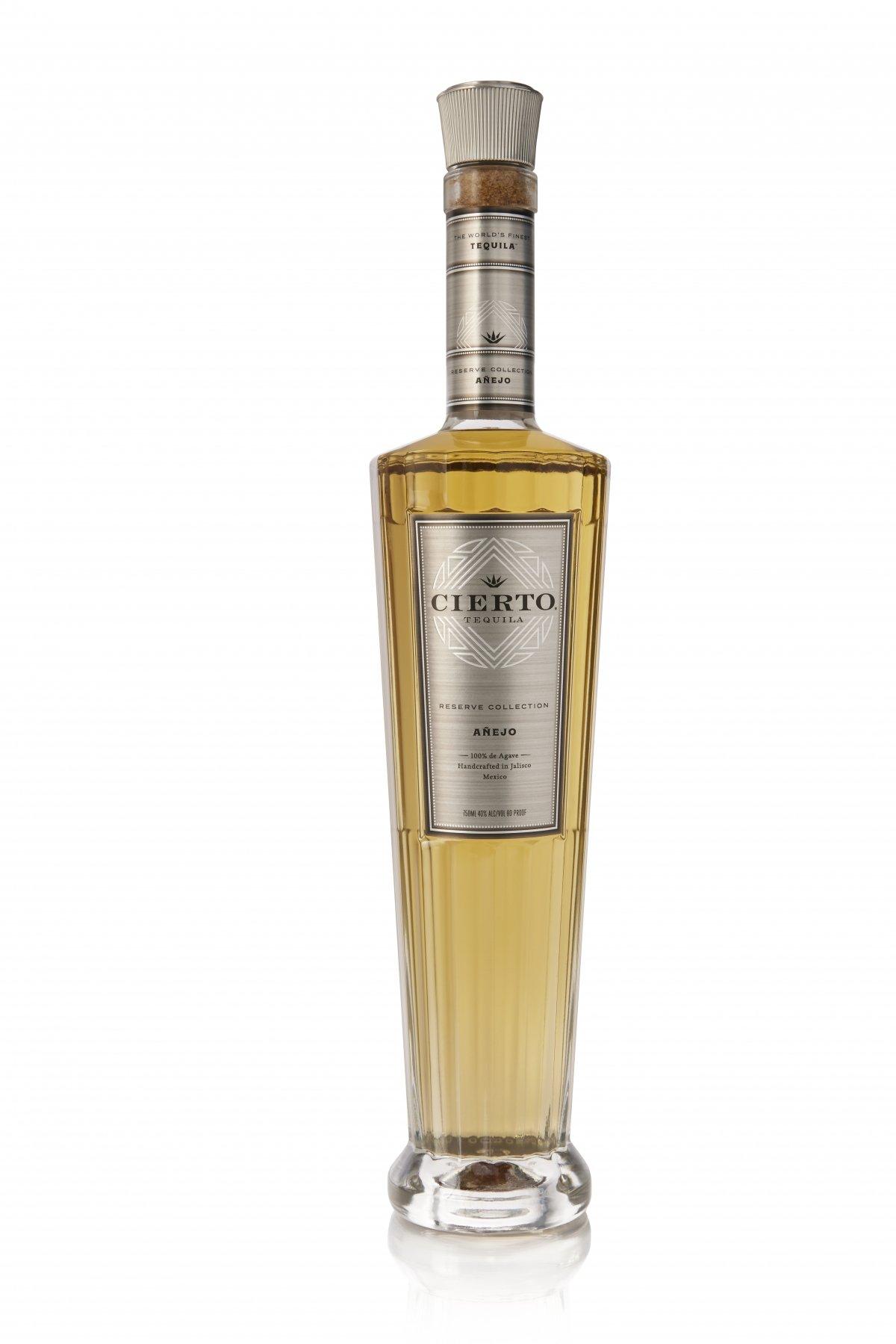 Botella de Cierto Tequila Reserve Collection Añejo