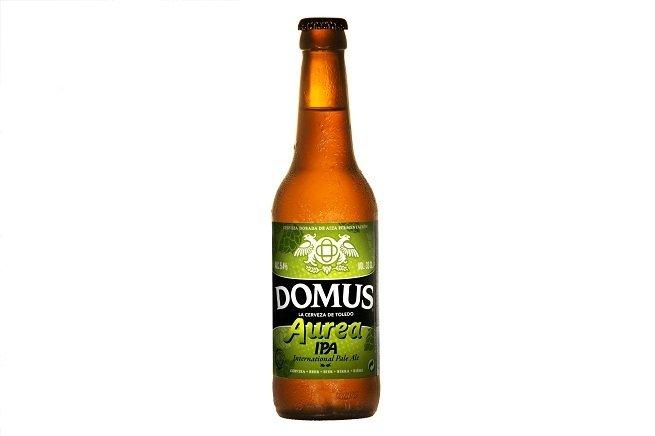 Botella de Domus Aurea IPA