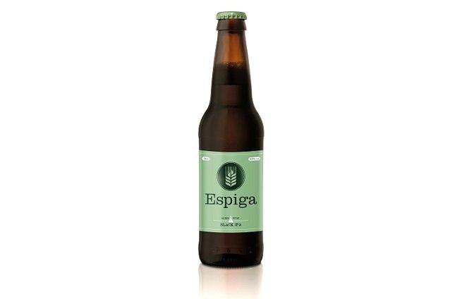 Botella de Espiga Black IPA