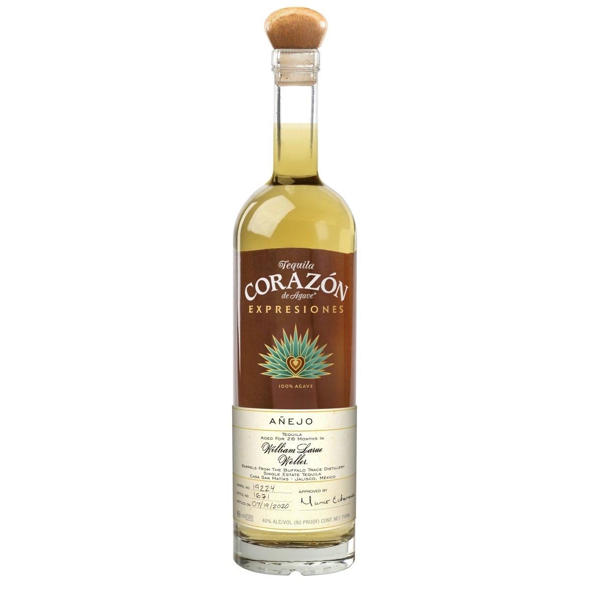 Botella de Expresiones del Corazon William Larue Weller Añejo