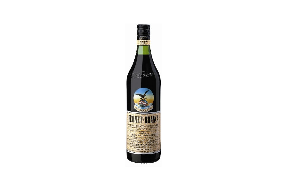 Botella de Fernet Branca