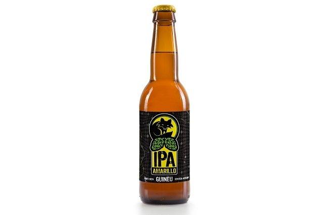 Botella de Guineu IPA Amarillo