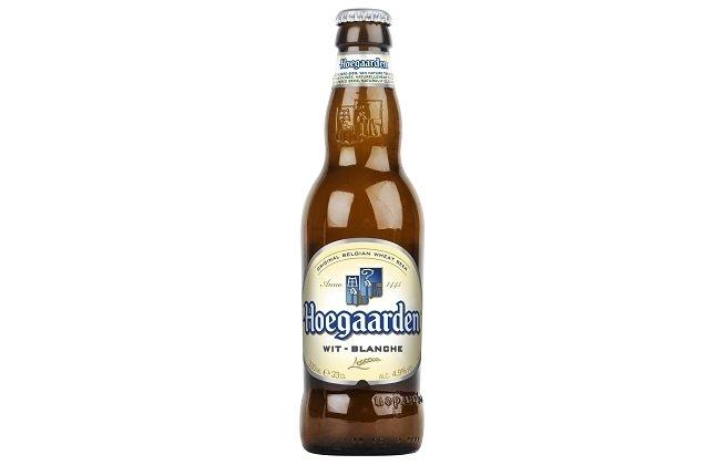 Botella de Hoegaarden
