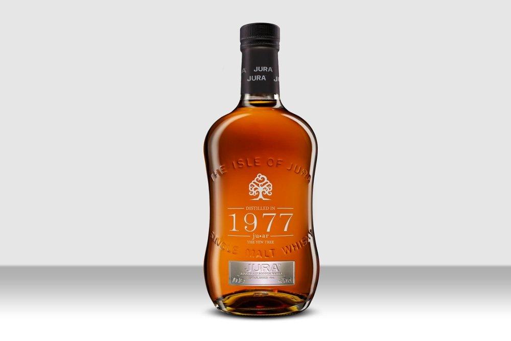 Botella de Jura 1977