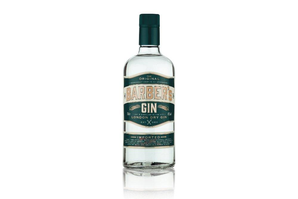Botella de la Barber's Gin