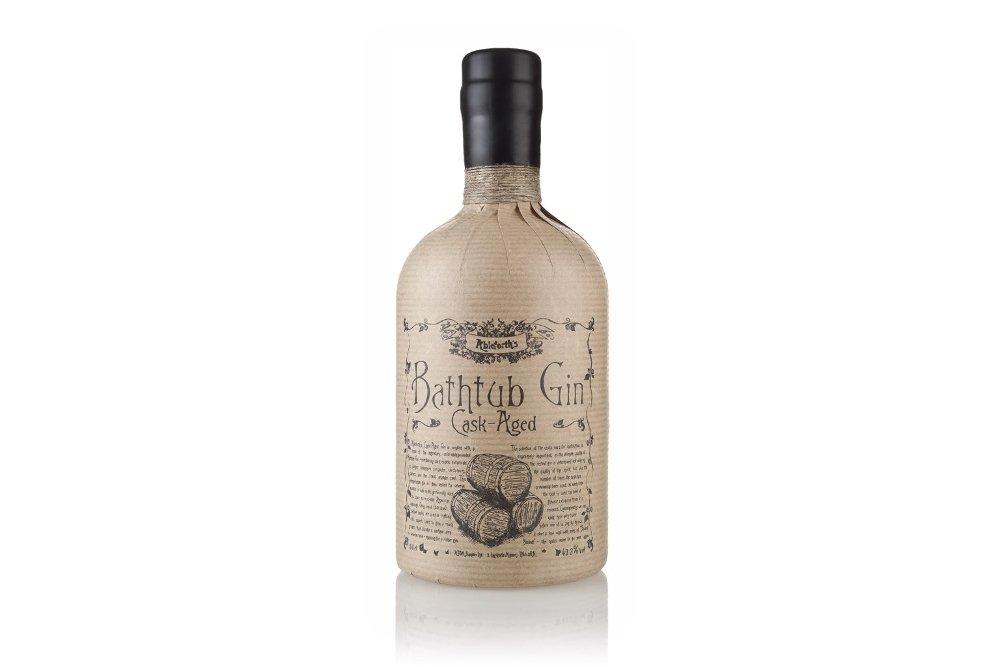Botella de la ginebra Bathtub Cask-Aged