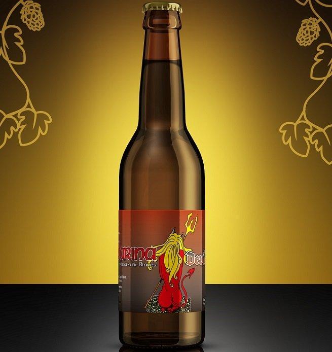 Botella de Marina Devil's IPA