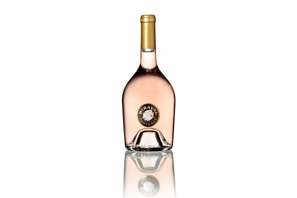 Botella de Miraval Rosé 2013