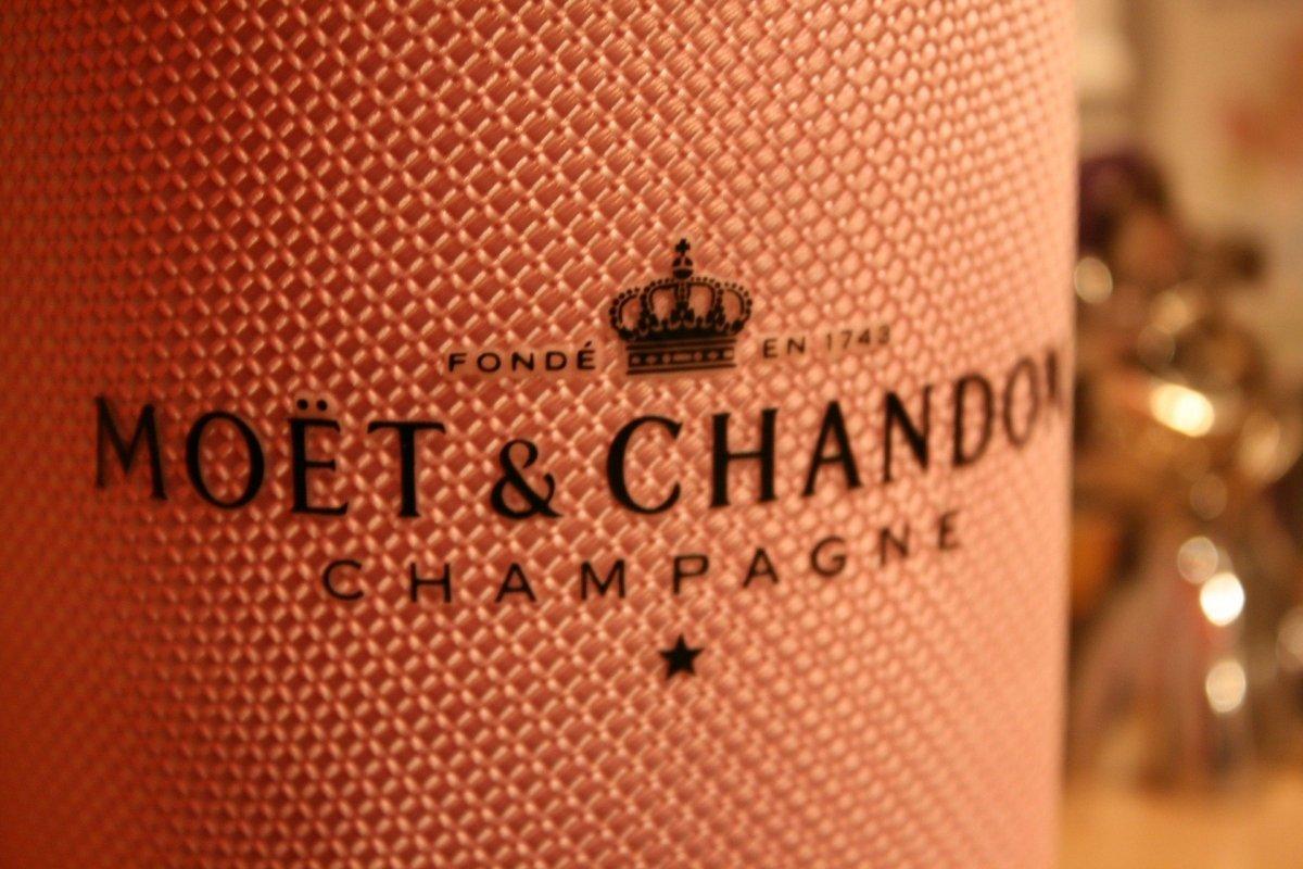 Botella de Moët & Chandon