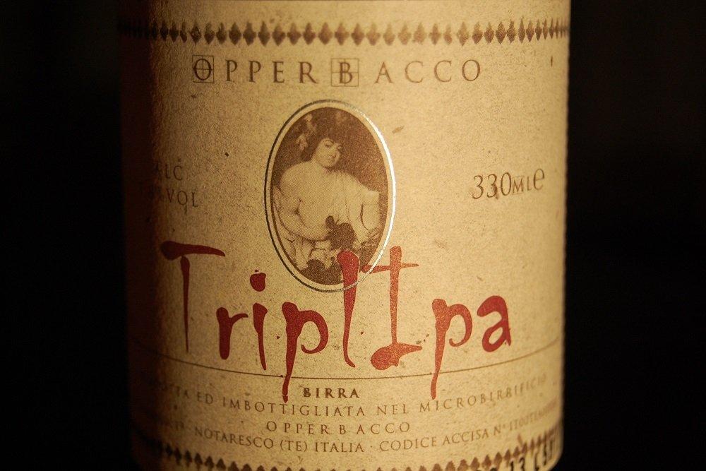 Opperbacco TriplIPA: cerveza italiana, estilo belga y lúpulo americano