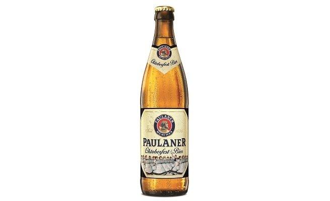 Botella de Paulaner Oktoberfest Bier