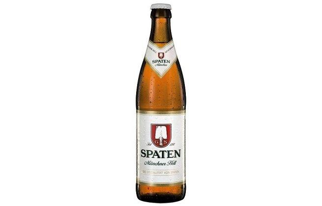 Botella de Spaten Helles Münchner