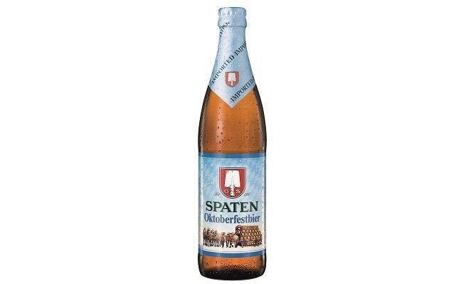 Botella de Spaten Oktoberfestbier