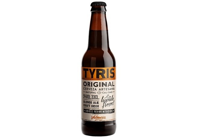 Botella de Tyris Original