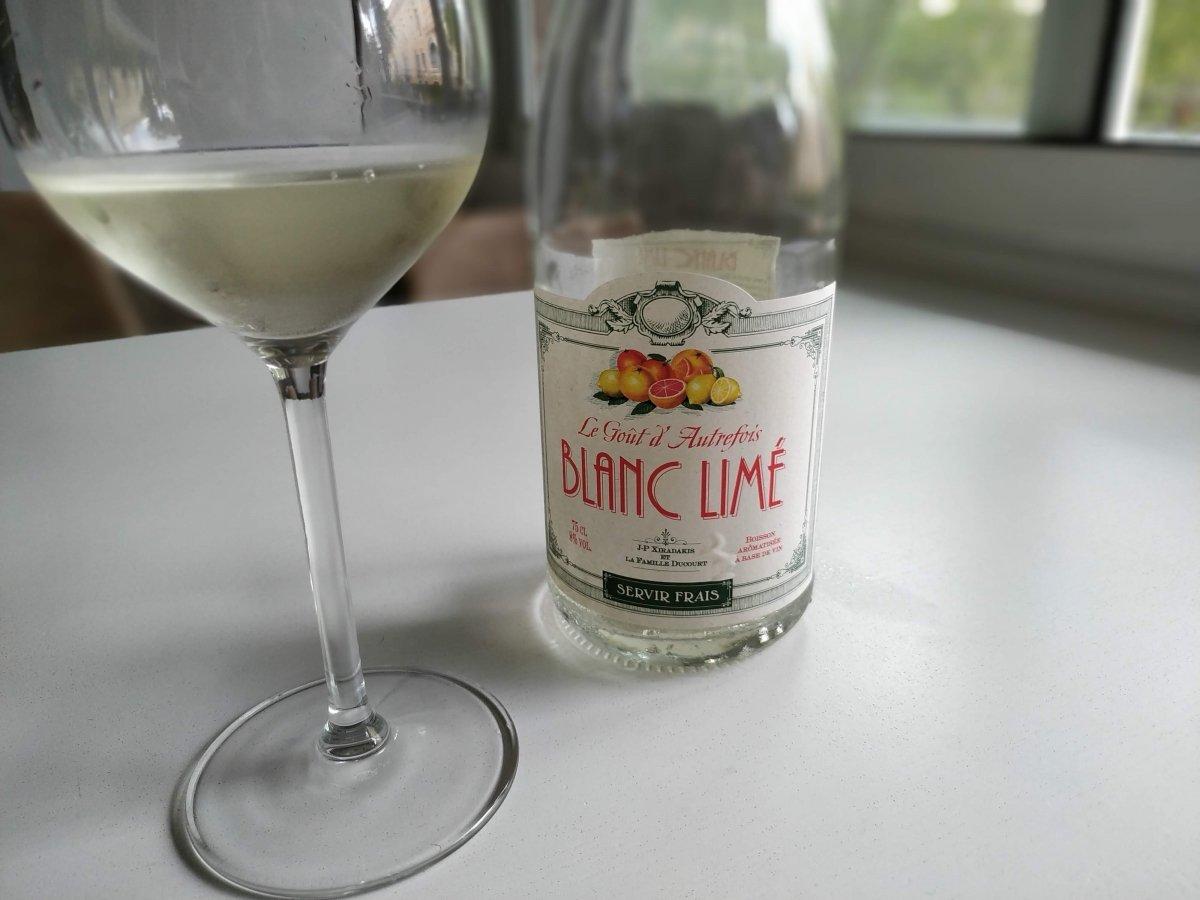 Botella de vino Blanc Limé