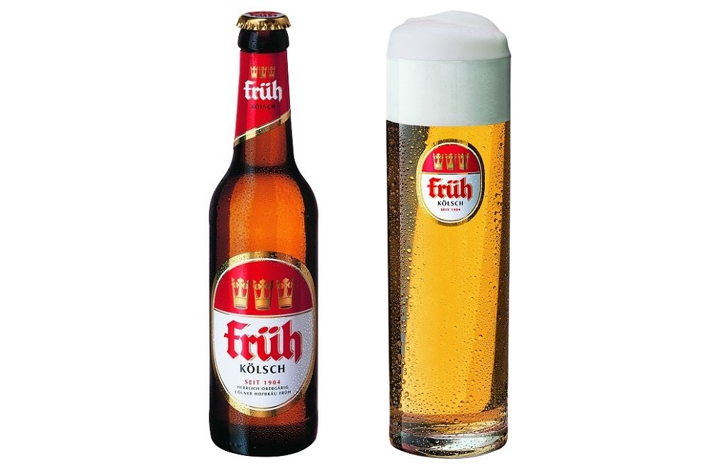 Botella y Stange de Früh Kölsch