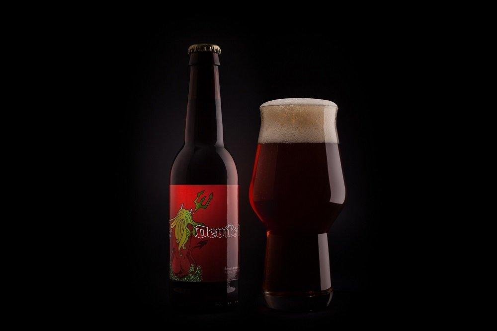 Marina Devil's IPA, una cerveza India Pale Ale cargada por el diablo