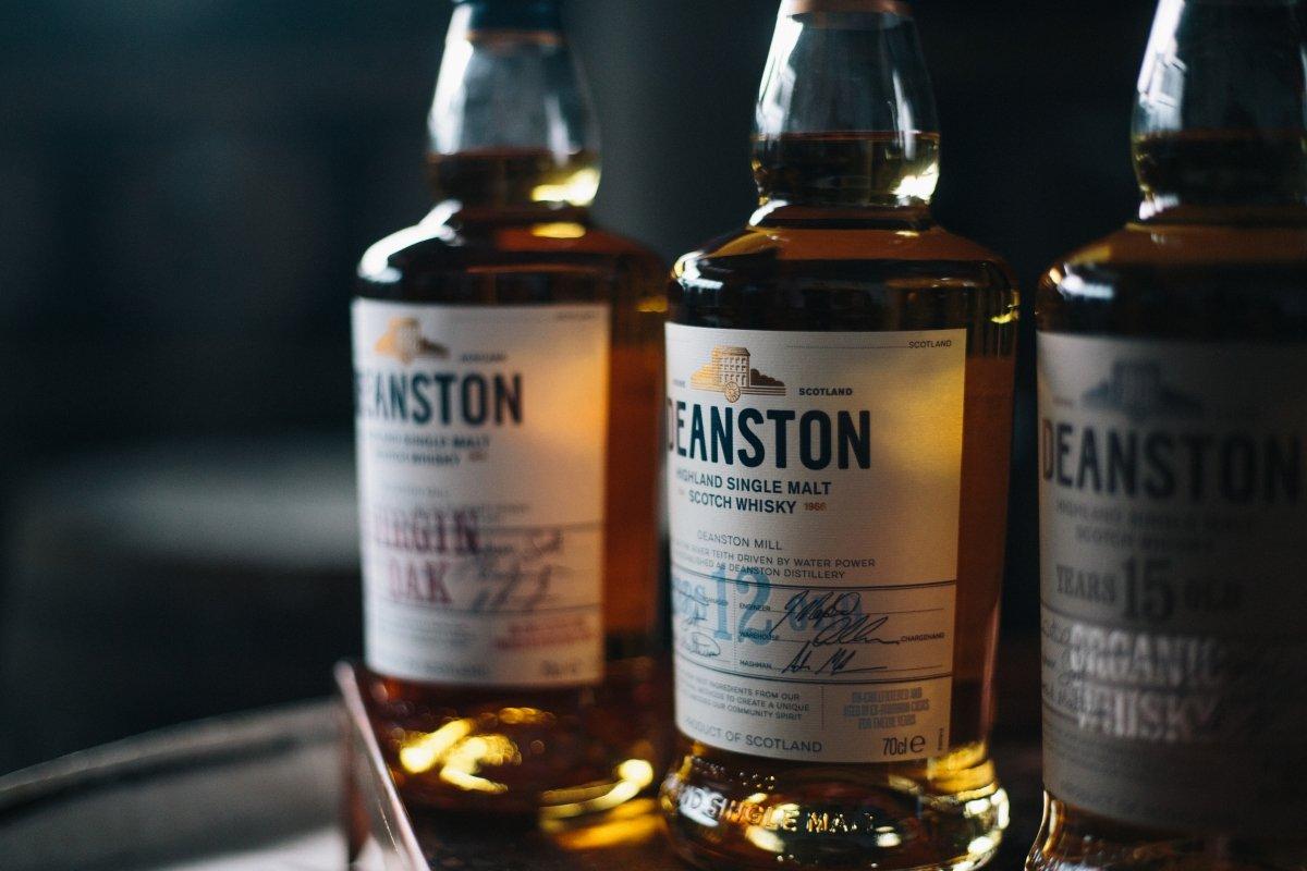 Botellas de Deanston 12 Whisky