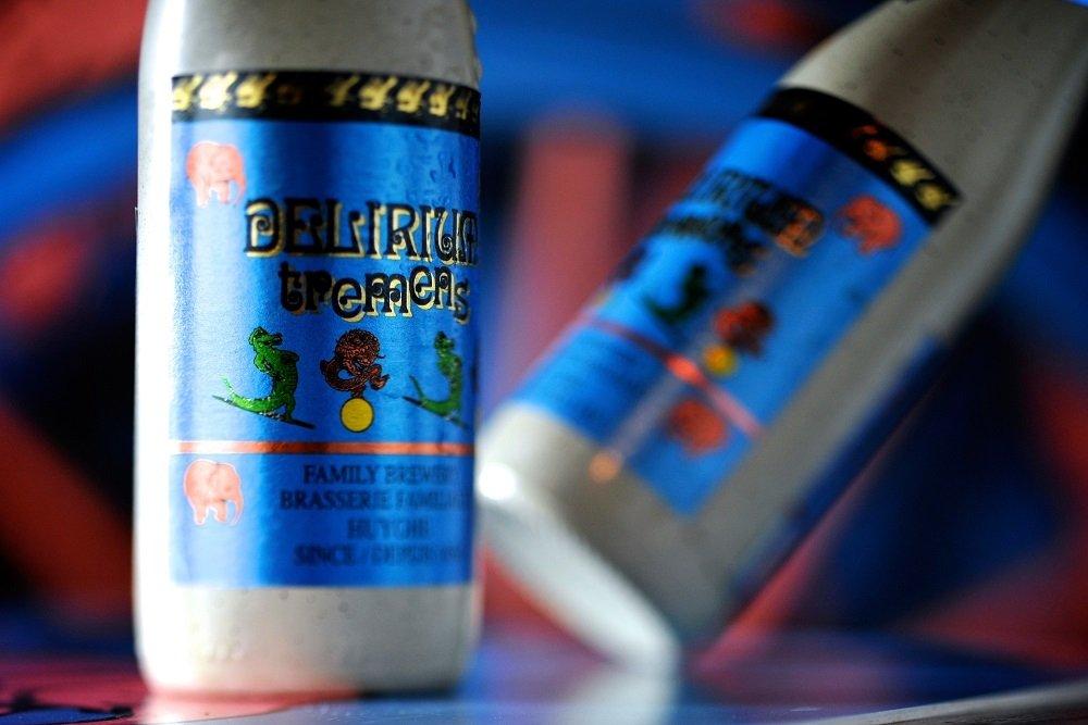 Botellas de Delirium Tremens