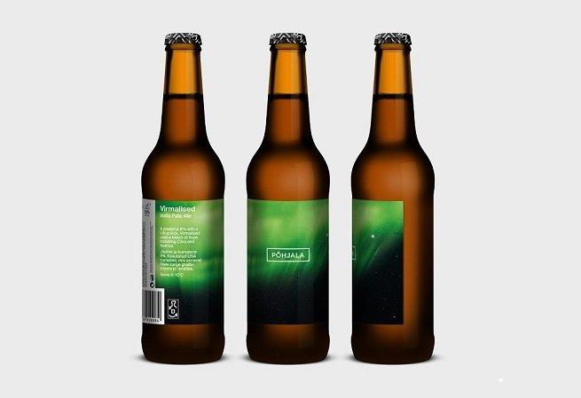 Botellas de Põhjala Virmalised IPA
