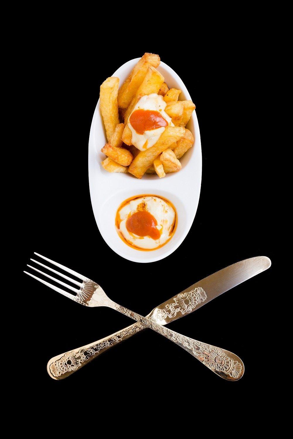 Bravas del restaurante ENA by Carles Abellán