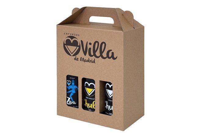 Caja de 6 botellas de cerveza Chula