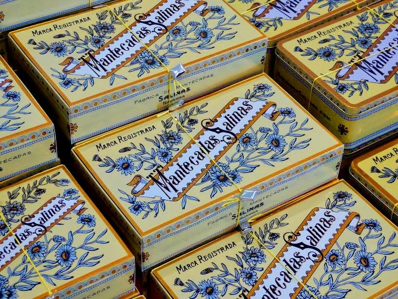 Cajas de mantecadas Salinas