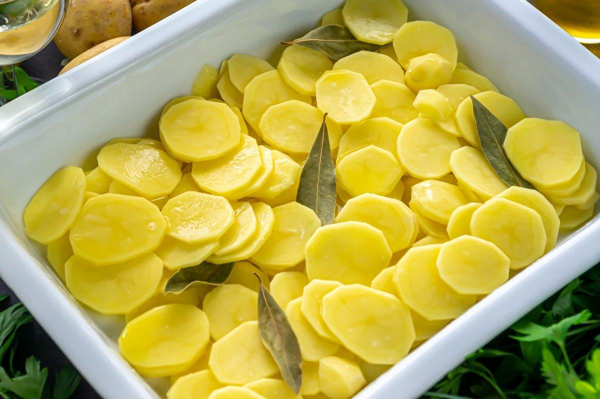 Cama de patatas