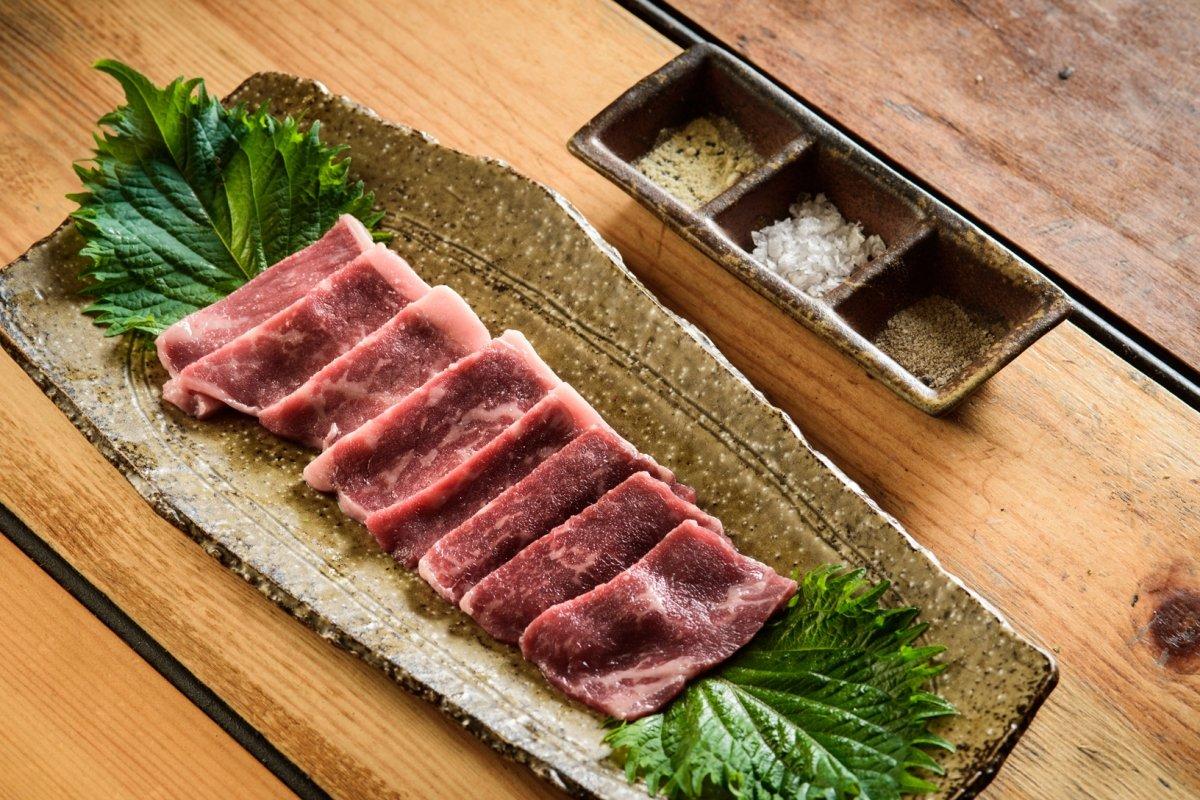 Carne de buey de Kobe en el restaurante Carlota Akaneya