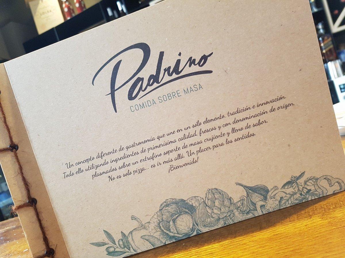 Carta del restaurante El Padrino de Gijón