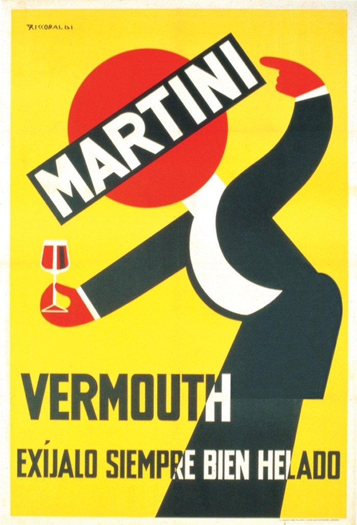 Cartel de Martini de 1938
