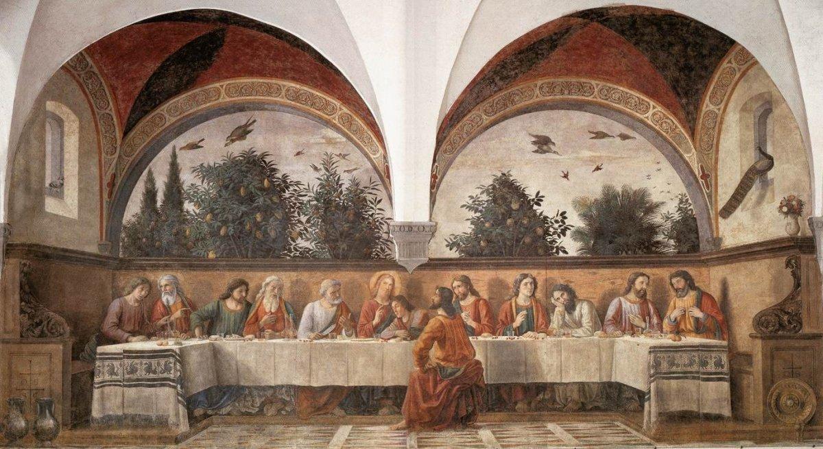 'Cenacolo di Ognissanti' de Ghirlandaio
